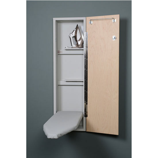 Beautiful Ironing Board Wall Cabinet