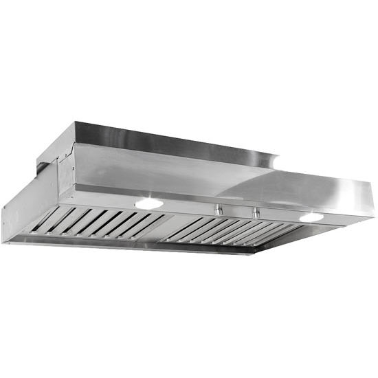 Inline Blower Range Hood : Range hoods c ventilator power pack built in