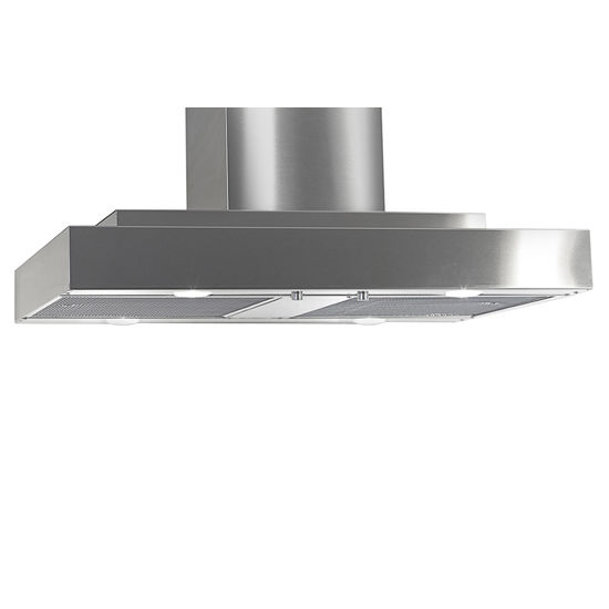 Imperial Island Slim Line Series IS2000 Range Hood with Dual Blowers, Mesh Filters & Single Duct