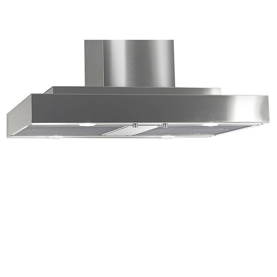 Imperial Island Slim Line Range Hood Series IS2000 with Mesh Filters & Air Ring Fan