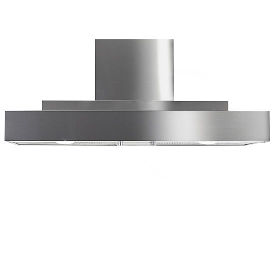 Imperial Wall Mount Series WH2000 Range Hood with Twin Blowers, Mesh Filters & Two Ducts