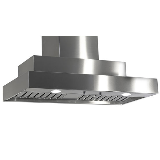 Imperial Wall Mount Series WH2000 Range Hood with Dual Blowers, Baffle Filters & Single Duct