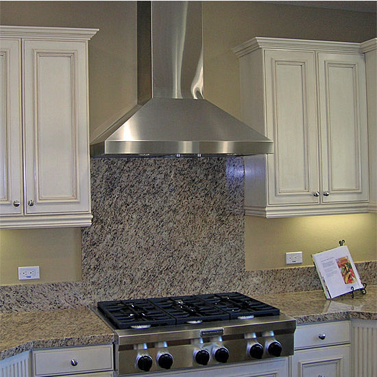 Imperial Wall Mount Chimney Style Range Hood 750 1290