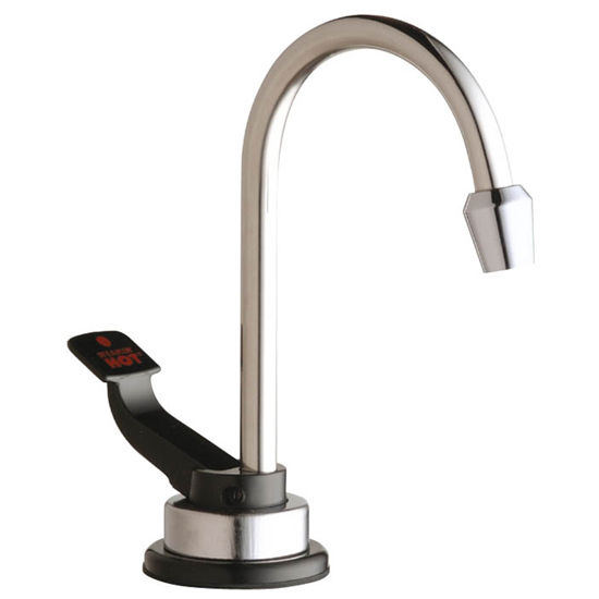 InSinkErator Instant Hot Water Dispenser In Polished Stainless Steel Faucet