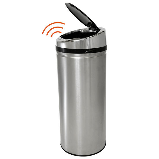 Fully Automatic Stainless Steel iTouchless Trashcan� NX 8 Gallon