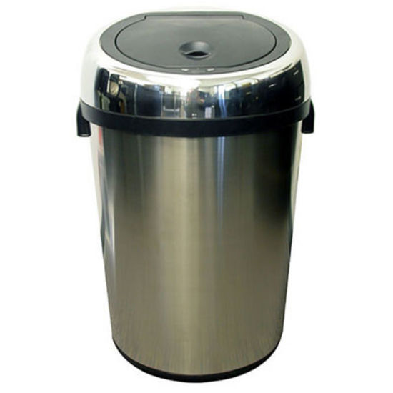 iTouchless 18 Gallon Stainless Steel Touchless Trash Can