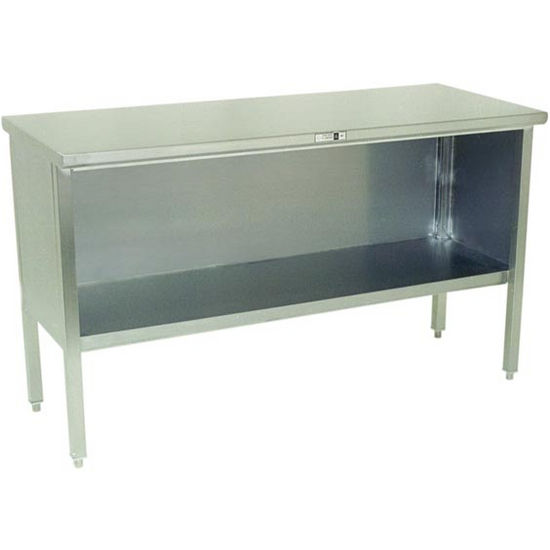 Open Front Stainless Steel Kitchen Work Table by John Boos