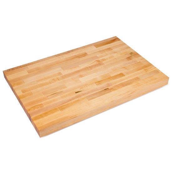Table Tops ¼ Thick Hard Maple Worktable Top By John Boos - Commercial wood table tops