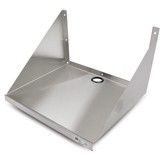 John Boos Microwave Wall Shelf JB-BMS