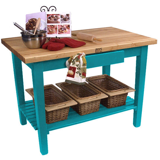 30'' Deep Classic Country Work Table