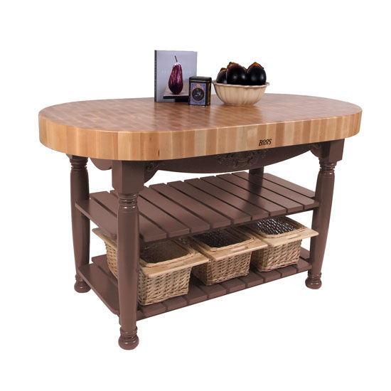 Work Table Jb Cu Har60 Kitchen Harvest Table With 4
