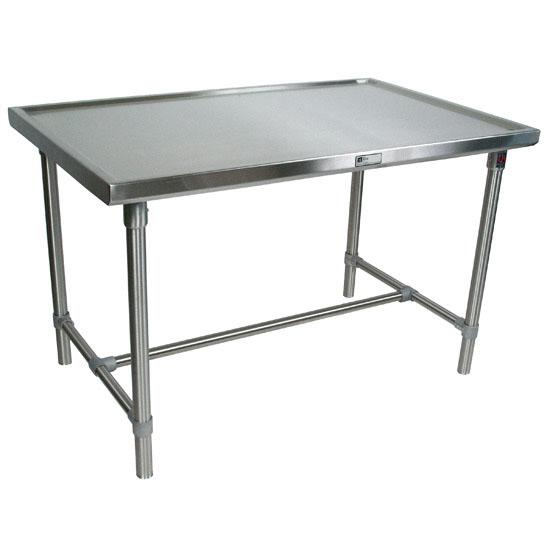 John Boos Stainless Steel Cucina Mariner Table