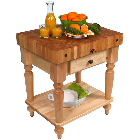 John Boos Kitchen Cart Work Tables 30 Cucina Rustica