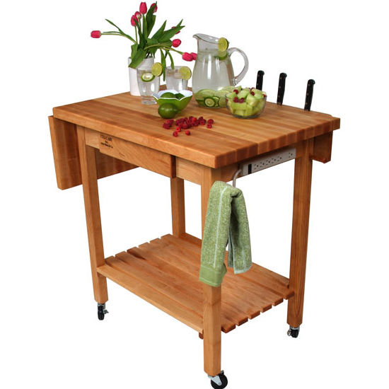 Deluxe Culi Cart Work Table by John Boos