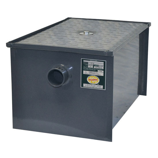 Grease Trap With Removable Baffle Made Carbon Steel By