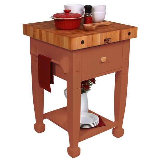 Butcher Blocks Jasmine Block Work Table In Multiple