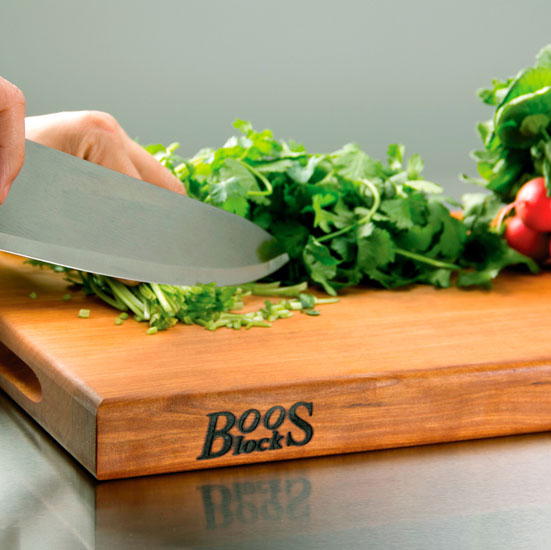 John Boos Reversible Cherry Wood Cutting Boards