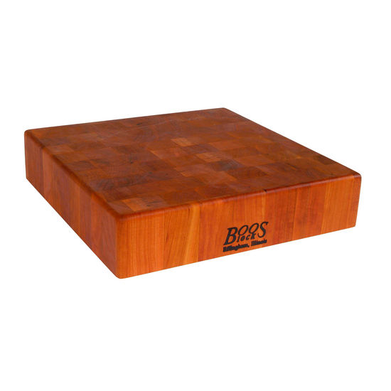 American Cherry Square Chinese Chopping Block
