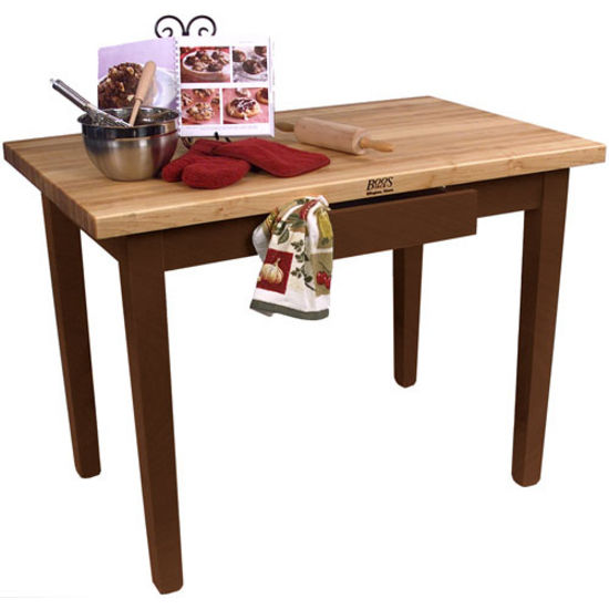 24'' Deep Classic Country Work Table By