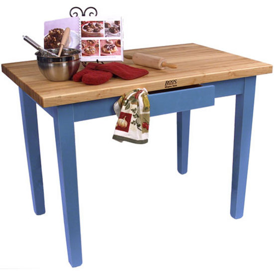 Kitchen Islands 24 Deep Classic Country Work Table By John Boos