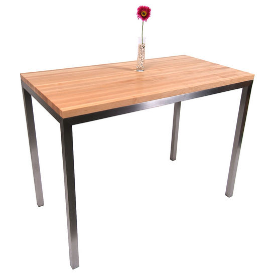 Maple Top Metropolitan Designer Series Metro Center Table by John Boos