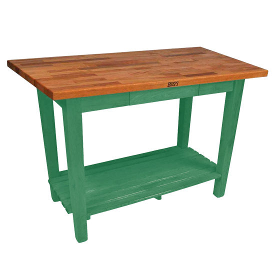 John Boos Oak Table Boos Block 48 W Kitchen Island With