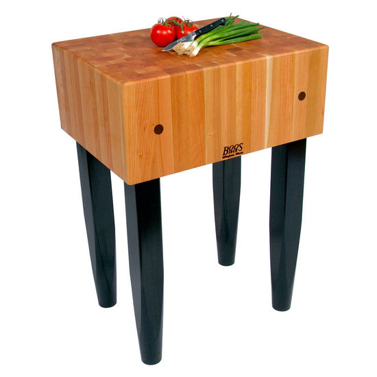 American Cherry Le Block Butcher Block Work Stations by John Boos