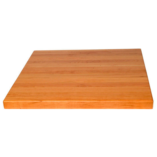 John Boos Cherry Butcher Block Table Top, Square