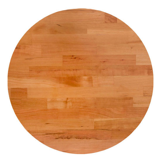 John Boos Cherry Blended Butcher Block Table Top, Round