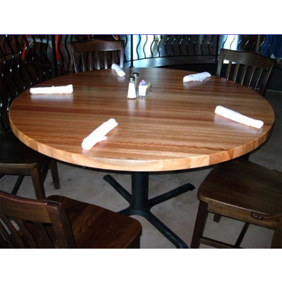 Table Tops Round Hard Maple Butcher Block Table Tops By
