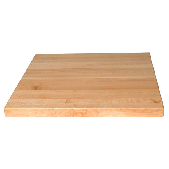 Square Maple Butcher Block Table Tops By John Boos