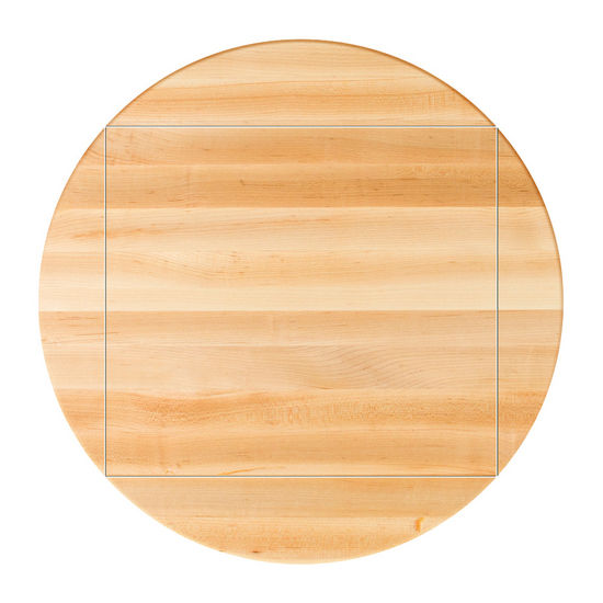 Maple Drop Leaf Butcher Block Table Top by John Boos