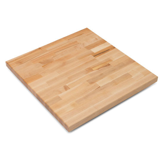John Boos Maple Blended Butcher Block Table Top, Square