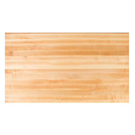Table Tops Hard Maple Rectangular Butcher Block Top By John Boos Kitchensource