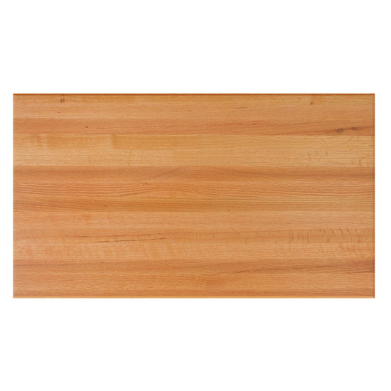 Red Oak Rectangular Butcher Block Table Tops by John Boos