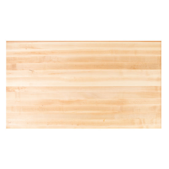 John Boos Soft Maple Butcher Block Table Top, Rectangular