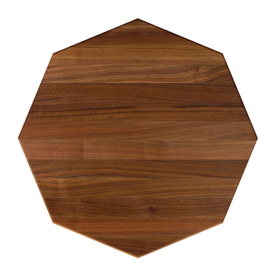 John Boos Walnut Butcher Block Table Top, Octagonal