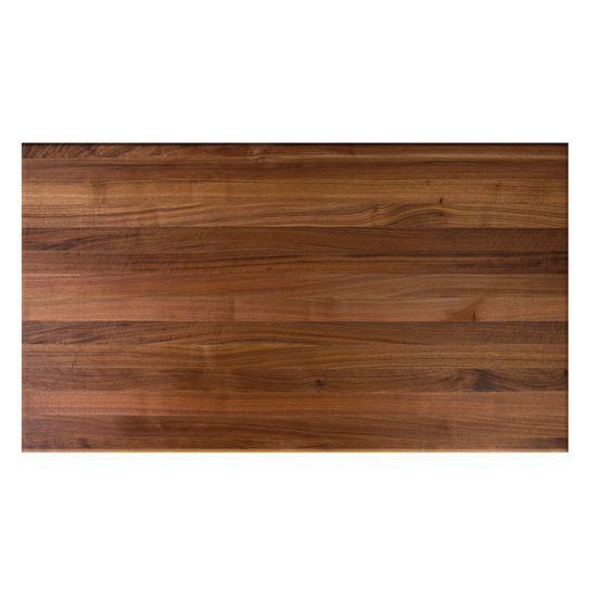 John Boos Walnut Butcher Block Table Top, Rectangular