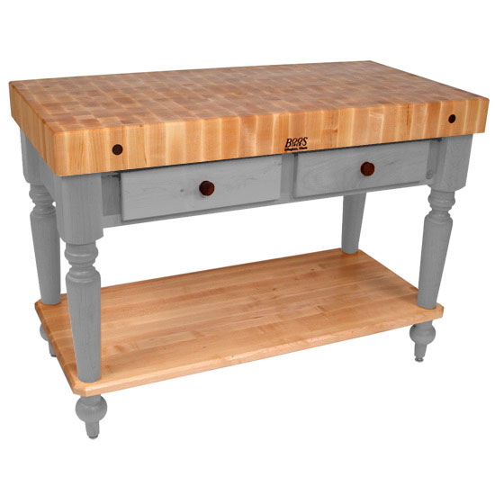 John Boos Kitchen Island Work Tables 48 Cucina Rustica