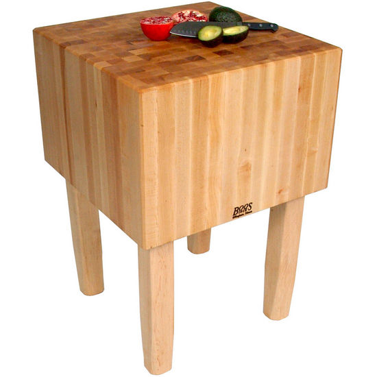 John Boos Aa Butcher Block Work Table With 16 Thick