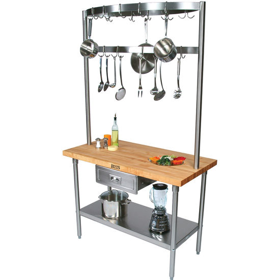 kitchen island pot rack kitchen island carts cucino grandioso build a table by 5134