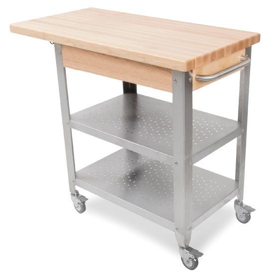 John Boos Cucina Elegante Kitchen Carts With 1 34 Thick Hard