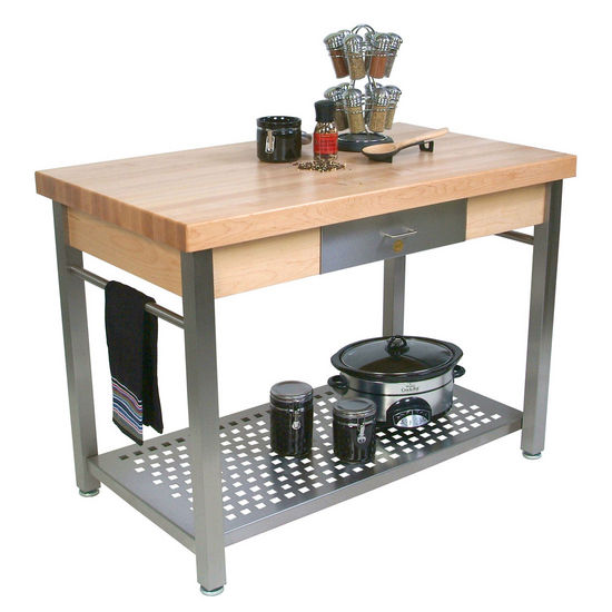 Cucina Grande Kitchen Work Table by John Boos