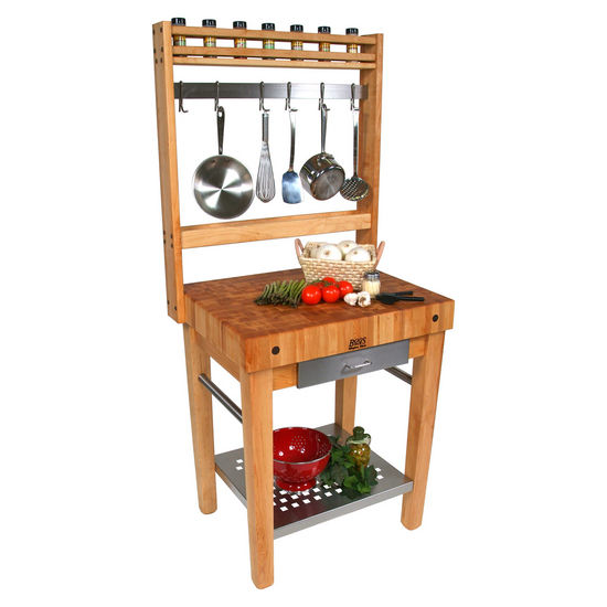 Cucina Premo Kitchen Cart by John Boos