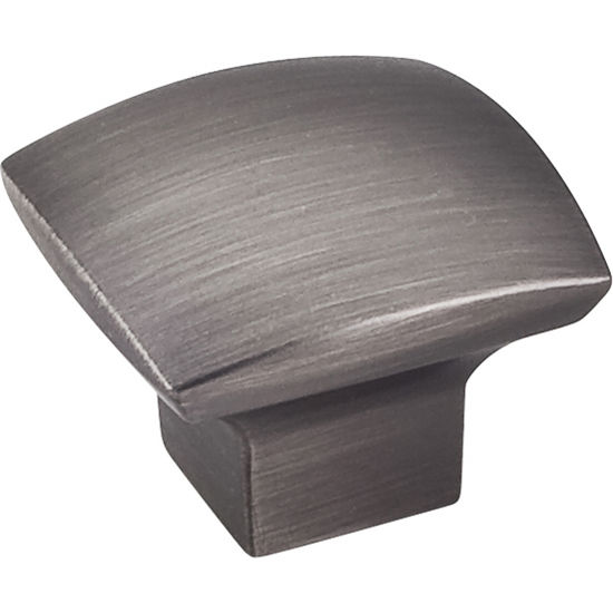 Jeffrey Alexander Sonoma Collection 1-3/16'' W Smooth Cabinet Knob in Brushed Pewter