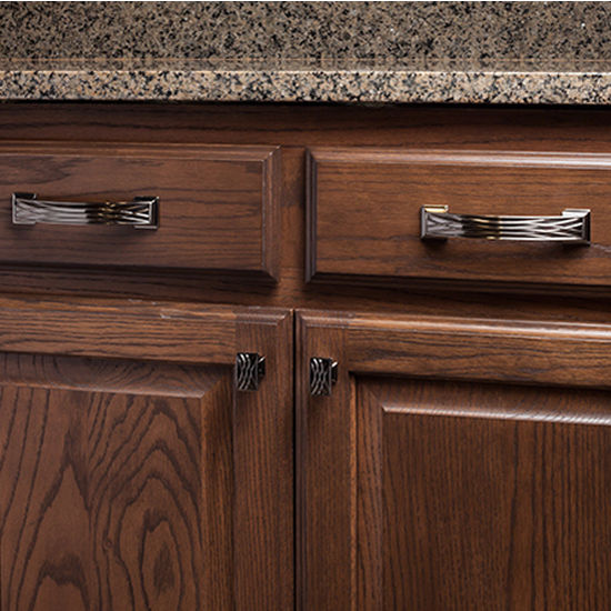 Kitchen Flooring Aberdeen: Aberdeen Collection Lined Cabinet Pull 5'', 6-1/4'' Or 7-5