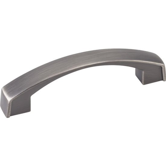 Jeffrey Alexander Merrick Collection 4-3/16'' W Cabinet Pull in Brushed Pewter