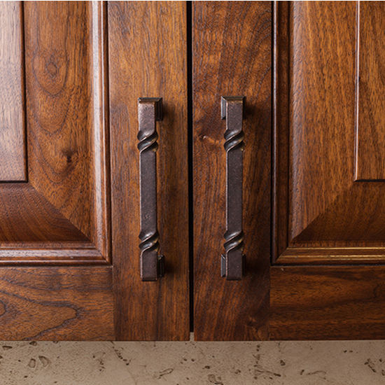Jeffrey Alexander Tahoe Collection Rustic Cabinet Pull