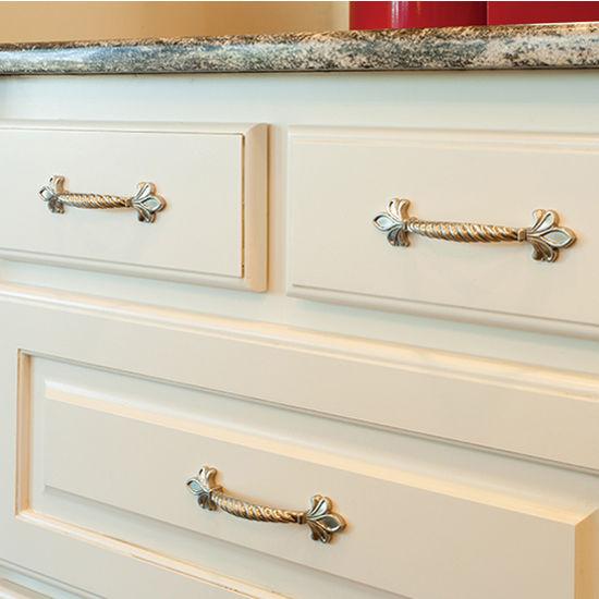 Evangeline Collection Fleur De Lis Cabinet Pull 6 12 Wide In