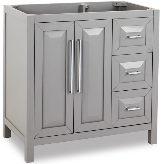 Bathroom Vanity Base bathroom vanity, cade contempo bathroom vanity with carerra white